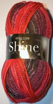 King Cole Shine DK 100g - OUR PRICE £4.50 per Ball